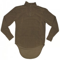 "originaler britisches Fleeceshirt - Combat, Undershirt, Thermal ""Light Olive, PCS"""