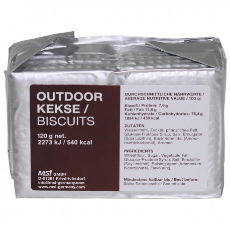 Outdoor Kekse - Made in Germany