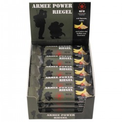 Karton Armee Power Riegel mit Guarana