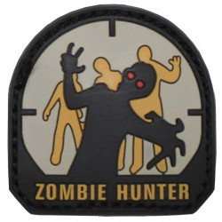 3D Rubberpatch - Zombihunter
