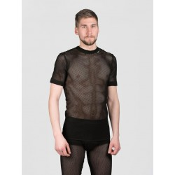 Svala 100% Dry Stretch Mesh T-Shirt in schwarz