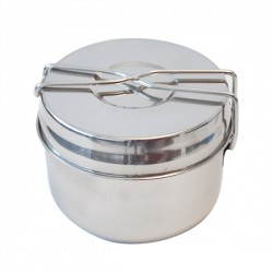 YATE POT Stainless Steel BASIC Small - 3 parts