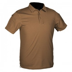 Tactical Quick Dry Poloshirt Dark Coyote