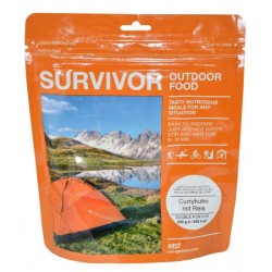 "SURVIVOR® Outdoor Food ""Curryhuhn mit Reis"""