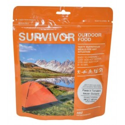 "SURVIVOR® Outdoor Food ""Pasta in Tomatensauce Siciliana"""